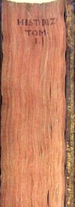 Fore-edge title